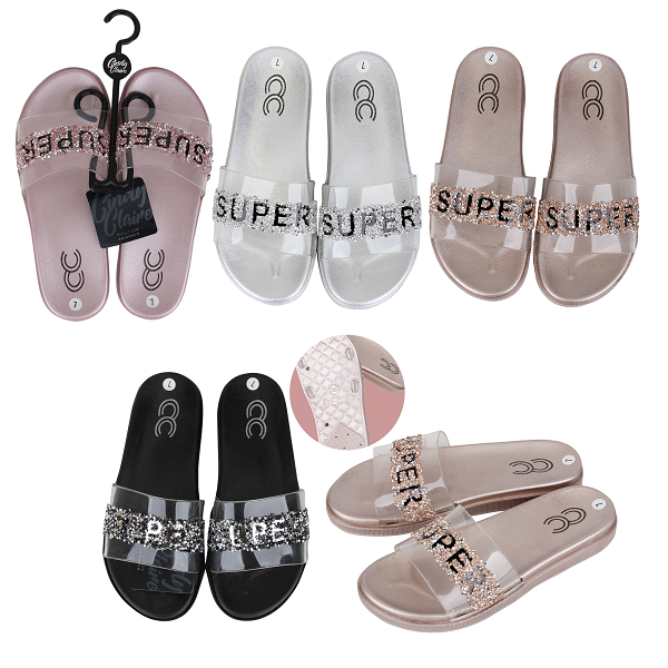 CC Sandal Ladies Glitter Super