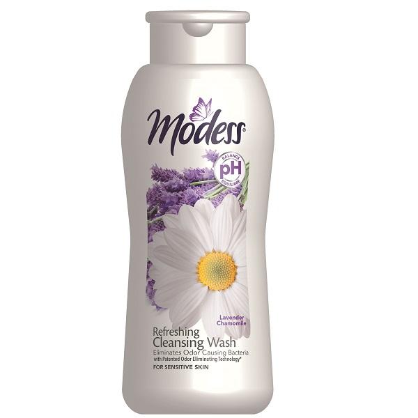 Modess Feminine Wash 9oz Lavender Chamomile