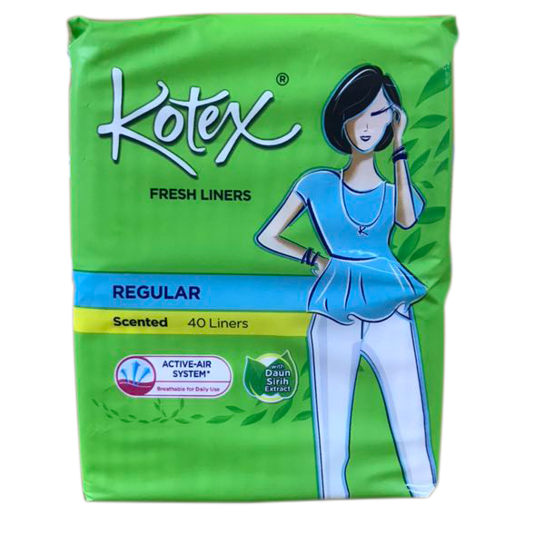 Kotex Panty Liner 40CT Scented