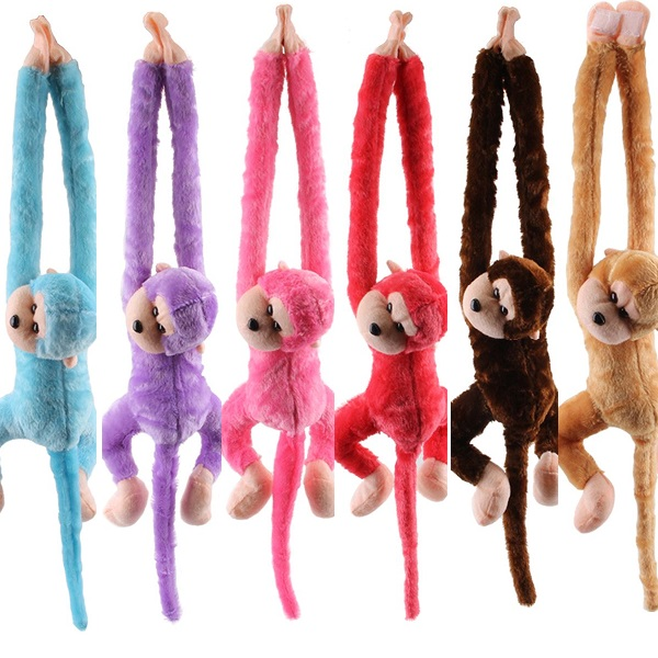 Monkey Doll With Sound Large 75CM