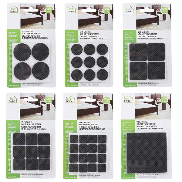 Ideal Home Furniture Pads Assorted