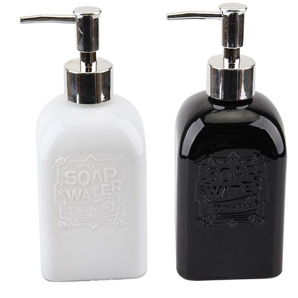 Soap Dispenser Ceramic Solid Color
