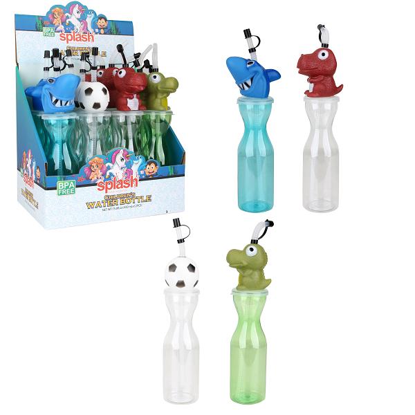 Splash Plastic Water Bottle 15.8oz Boys