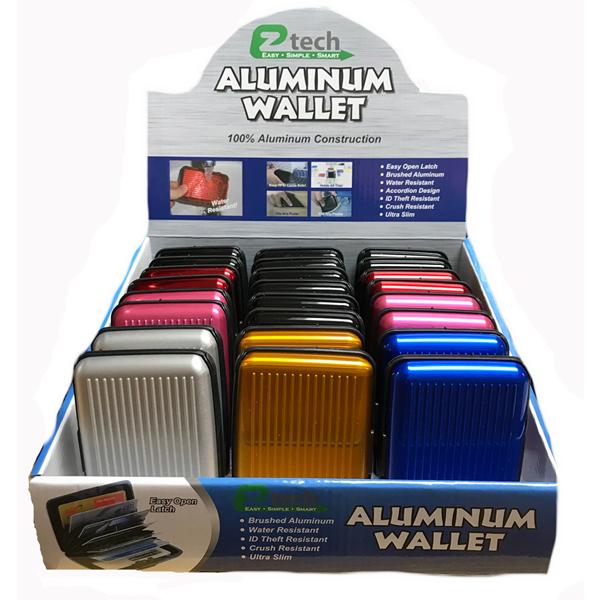 EZ-Tech Aluminum Wallet Solid