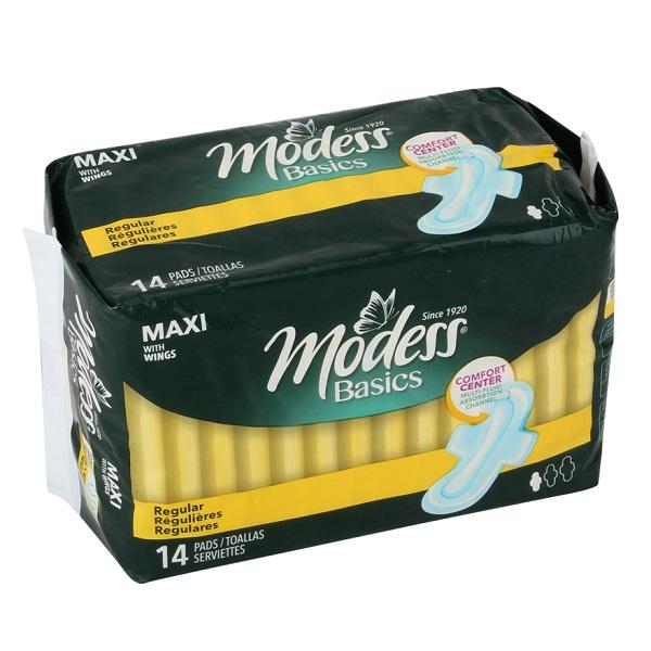 Modess Maxi Regular Pads 14CT