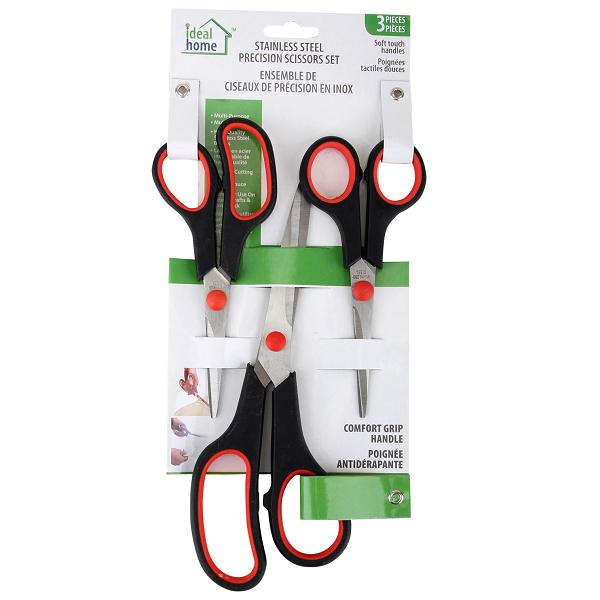 Ideal Home Scissors 3PK