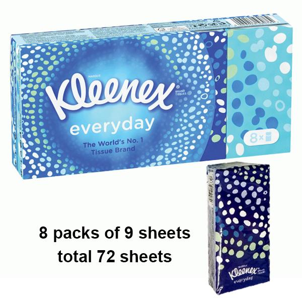 Kleenex Pocket Tissue 8PK Original