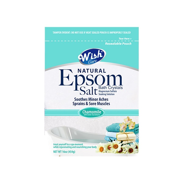 Wish Epsom Salt 16oz Bag Chamomile