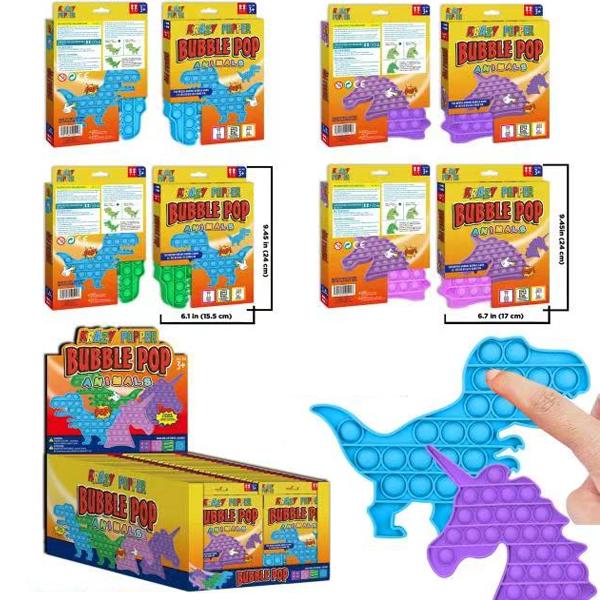 Krazy Popper Bubble Dino & Unicorn