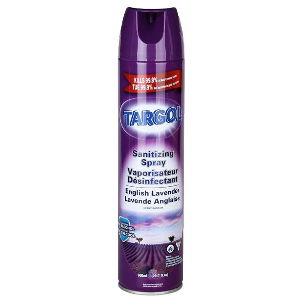 Targol Sanitizing Spray Aerosol 20.7fl. oz English Lavender