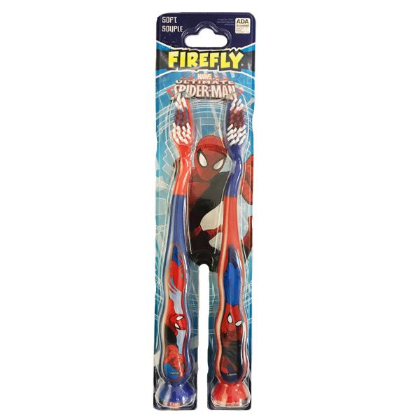 Firefly Toothbrush w/ Marvel Hero 4PK