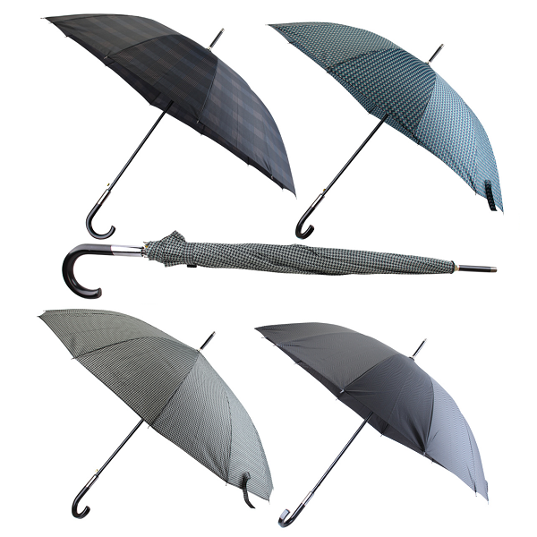 Drops Umbrella Long Printed 65cm 25.5in