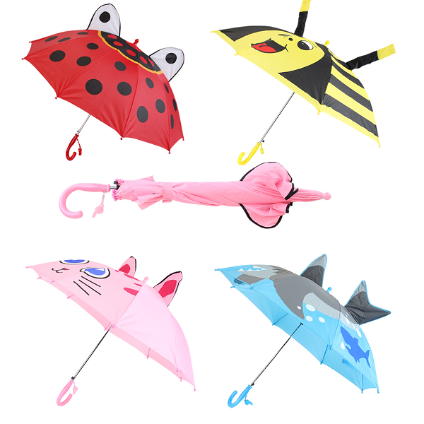 Drops Umbrella Cute Kids w/ Ears HD