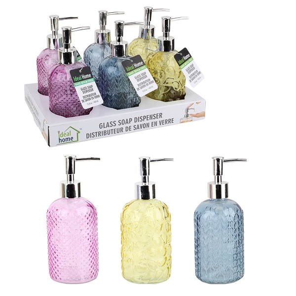 Ideal Home Soap Dispenser Display Round