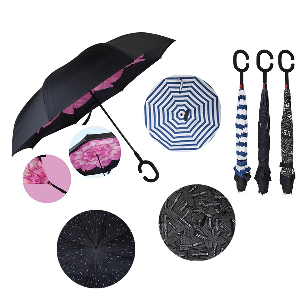 Drops Umbrella Double Layer Reverse Printed