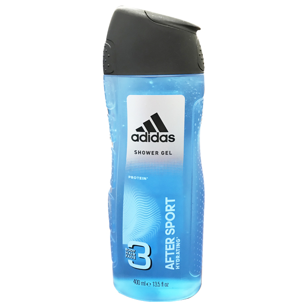 Adidas Shower Gel 400ml 3-in-1 After Sport Hydrating