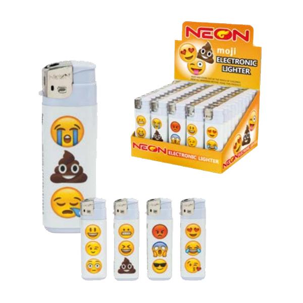 MK Electronic Disposable Lighters Emoji