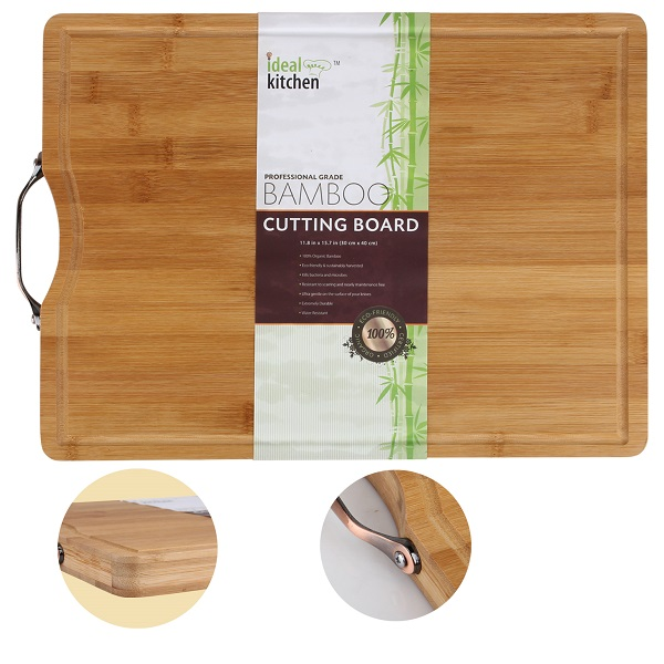 Ideal Kitchen Bamboo Cutting Board 30x40x2.5cm