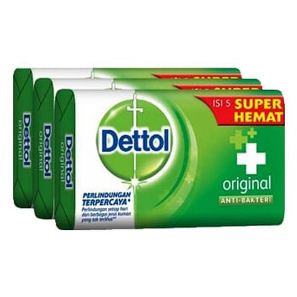 Dettol Soap 3PK 100g Original