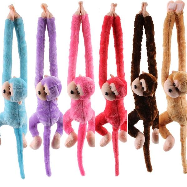 Monkey Doll With Sound  70cm
