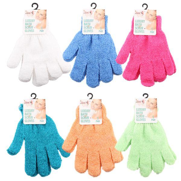 Ideal Bath Luxury Scrub Glove Solid