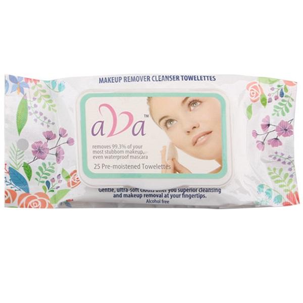 Ava Make Up Wipes 25CT
