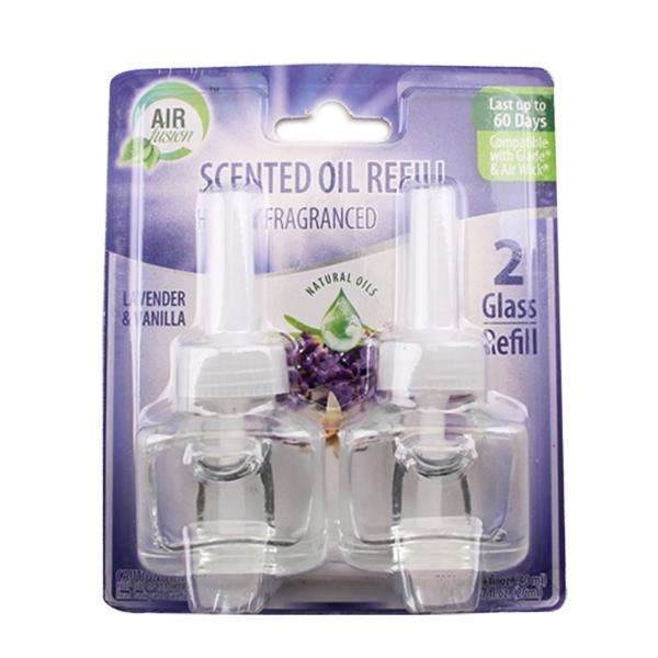 Air Fusion Glass Oil Refill 0.67oz 2PK Lavender & Vanilla