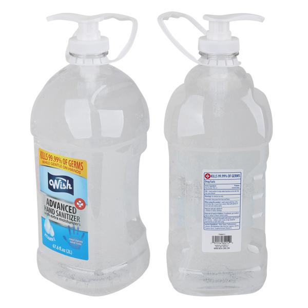 Wish Hand Sanitizer 67.6oz w/ Pump