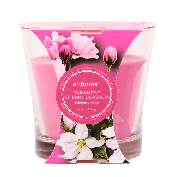 Air Fusion Candle 4oz Jap Cherry Blossom