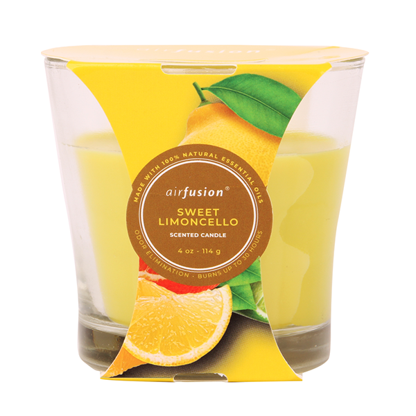 Air Fusion Candle 4oz Sweet Limoncello