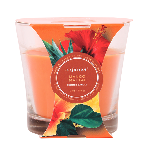 Air Fusion Candle 4oz Mango Mai Tai