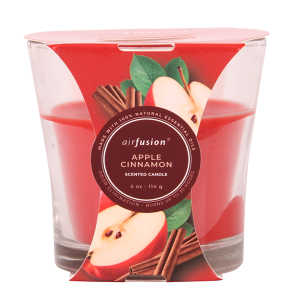 Air Fusion Candle 4oz Apple Cinnamon
