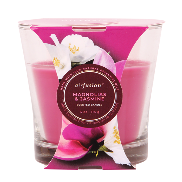 Air Fusion Candle 4oz Magnolias & Jasmine