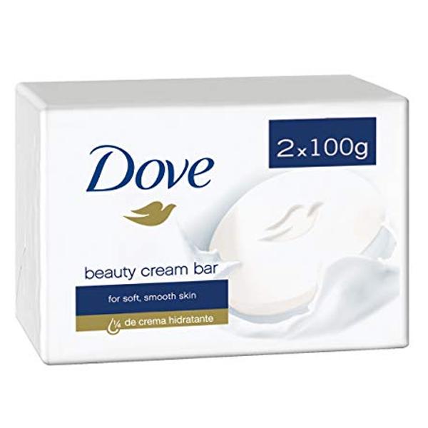 Dove Soap 100G 2PK White