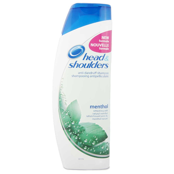 Head & Shoulders Shampoo 400ml Menthol