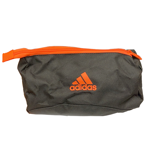 Adidas Cosmetic Bag 9x5x4 Orange/Black