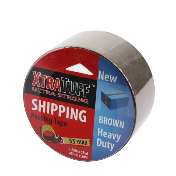 XtraTuff Packing Tape 1.89in by 55yd Brown