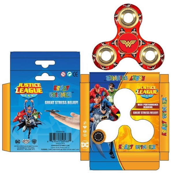 Krazy Spinner DC Wonder Women