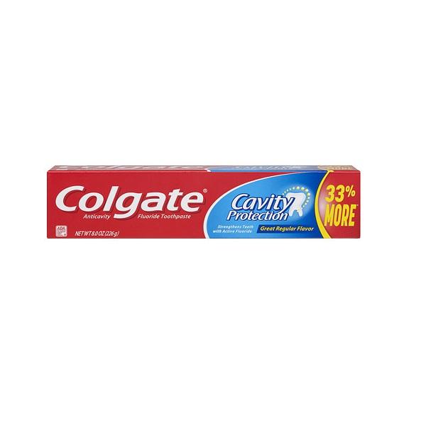Colgate TP 8oz Cavity Protection