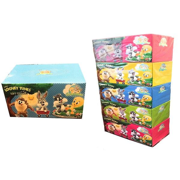 Baby Looney Tunes Facial Tissue Box 170s