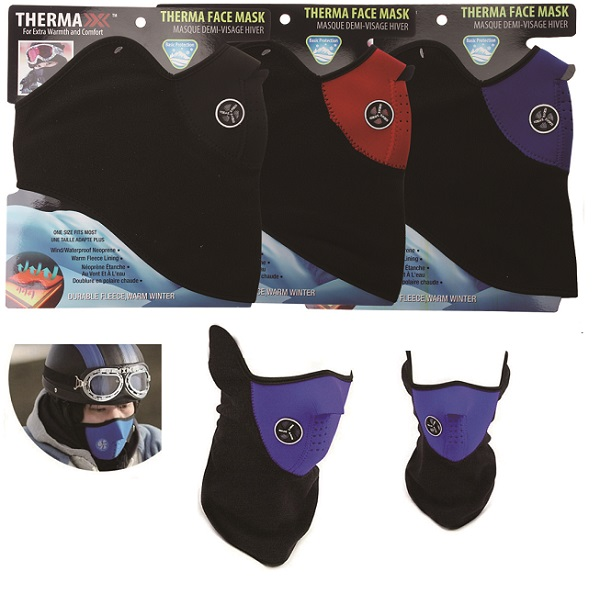 Thermaxxx Windproof Half Face Mask w/ Vent