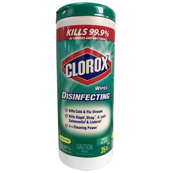 Clorox Wipes 35CT Fresh Scent