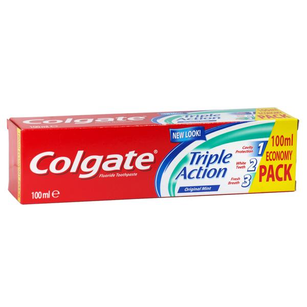 Colgate Toothpaste 100ml Triple Action