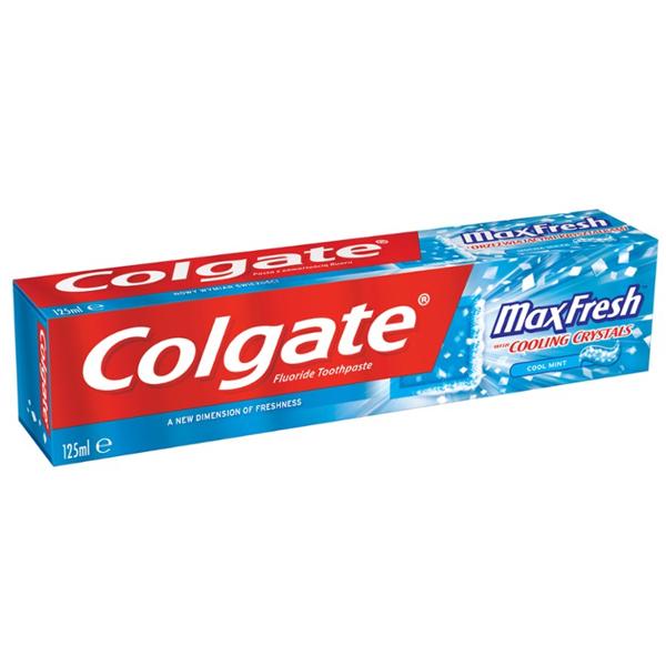 Colgate Toothpaste Total 125ml Max Fresh
