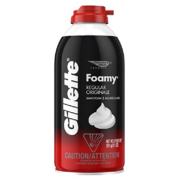 Gillette Foamy Shaving Cream 11oz Regular