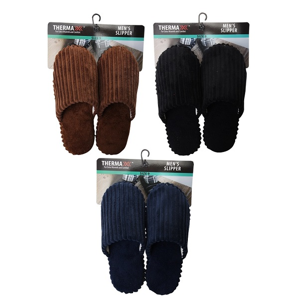 Thermaxxx Mens Slipper Line