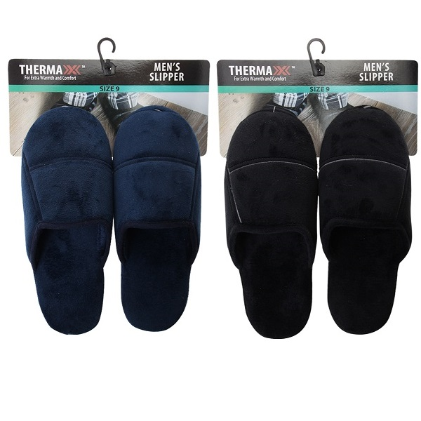 Thermaxxx Mens Slipper Solid