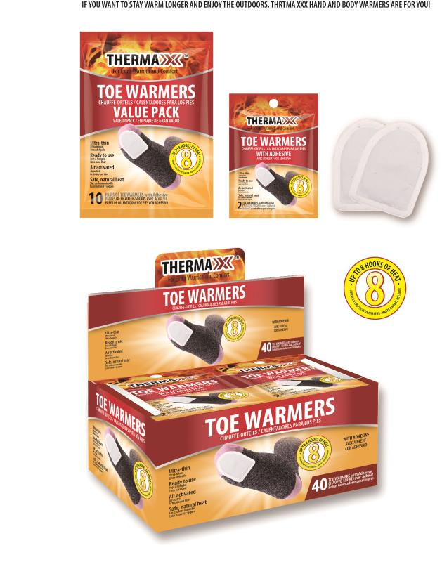 Thermaxxx Warmers 1PR Toe