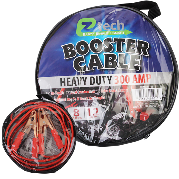 EZ Tech Starter Cable 12FT 300AMP