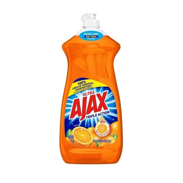 Ajax Dish 28oz Orange